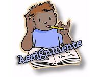 Assignment/ Dissertation/ Essay/ Coursework/ Proposal/ PhD Thesis/ Statistical Analysis Writer help