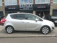 2011 Vauxhall Meriva 1.4 16v 140ps a/c 1398cc SE 5DR 60 REG Petrol Silver