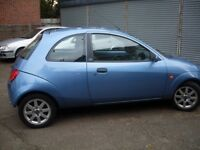 FORD KA COLLECTION - 1.3 - 52 PLATE - 2002 - MOT AUGUST 2017 - PART EXCHANGE CLEARENCE