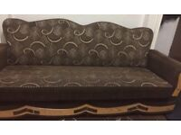 2 Four Seaters and 1 Two Seater Sofa Set