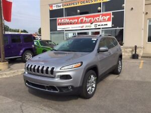2017 Jeep Cherokee LIMITED 4X4 LEATHER