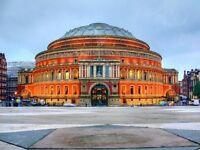 Back of House Porter - rhubarb at The Royal Albert Hall