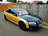 2006 Audi A8 4.2TDI AUTO Quattro SE BLACK AND GOLD