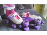 Girls quad skates size 13-3