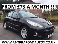 2010 PEUGEOT 207 VERVE 1.4 ** FINANCE AVAILABLE ** ALL CARDS ACCEPTED