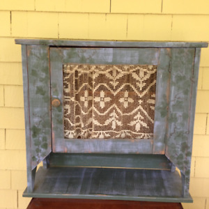 Shabby Chic Cabinet - NOW $30.00