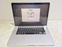 """Apple MacBook Pro 15.4"""" Mid-2012 Retina 2.6GHz i7 512GB SSD 8GB RAM MD104B/A"""