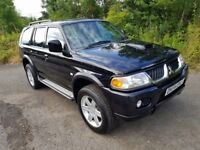 L@@K Mitsubishi Shogun Sport**2.5 Turbo Diesel 4x4**Leather Interior**MOT MAY 2018**Lovely Example