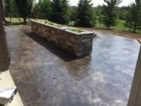 Commercial and residential concrete work. Competitive pricing