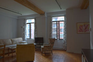 Fully furnished Griffintown apartment - Flexible dates