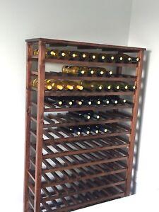 Rack a vin de 120 bouteilles