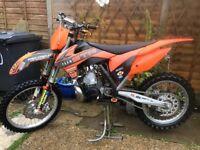 KTM 250 sx 2012 mint bike had a very easy life not Kx yz rm cr tm husky tc