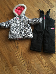 12 month old girl snow suit