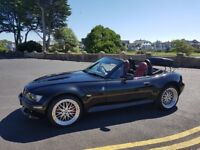 2001 BMW Z3 3.0I convertible manual with cruise control with the 3.0 engine