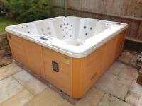 Hot Tub Clearance Canadian spa used lights mp3 dock speakers