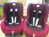 Two britax kids car seats