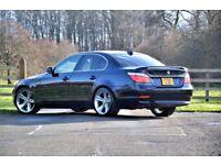 BMW E60 530i Auto Blue High Spec MOT