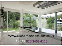 KITCHEN EXTENSION BUILDERS,Loft CONVERSION, GARAGE & BASEMENT conversion, architect plans, newBUILDS