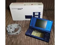 Nintendo DSi - Metallic Blue - Excellent used condition (as new), complete with box