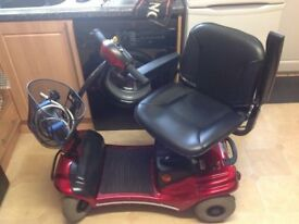 SHOPRIDER PARIS CAR BOOT SIZED MOBILITY SCOOTER, IN EXCELENT USED CONDITION WITH NEW BATTERIES