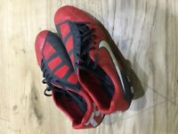 Nike T90 football boots (size 10 adult) (Great value)