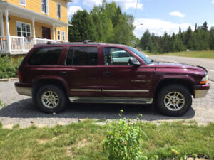 2001 Dodge Durango 4x4 7 passagers
