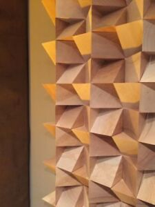 Wood Acoustic Diffuser Studio