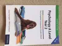 AQA A level Year 2 Psychology Textbook (fourth edition)