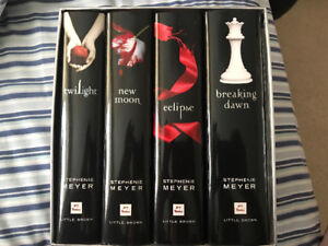 Twilight 4 book collection