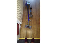 Dyson Animal V6 cordless vacuum cleaner, comes with all original accessories, seen very little use.