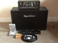 HUGHES AND KETTNER GRANDMEISTER 36 BUNDLE/2x12 cab/floorboard/cover/