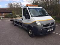 2006 VAUXHALL MOVANO 3500 CDTI WHITE RECOVERY TRUCK FULL SERVICE HISTORY NEW BED