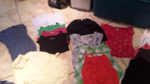 Large lot of maternity clothes