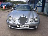 Jaguar S-TYPE 2.5 V6 auto SE 4 DOOR - 2003 03-REG - 10 MONTHS MOT