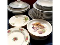 Mixed Vintage Crockery | Ideal For Wedding or Tea Party