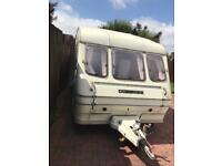 Rallye 400 compass 2 berth caravan Lovely condition through out quick sale £695 no offers