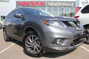 2016 Nissan Rogue SL/Leather/Sunroof/Bluetooth/AWD