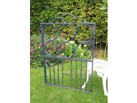 Metal Garden Gate, Good Condition