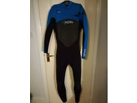 Men's Xcel X ZIP2-5.4 front zip wetsuit, 5 mm thickness