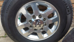4 chevy or GMC rims and Michelin A/T2 L T 265/70R18