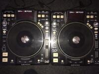 Denon 3700 turntables pair for sale