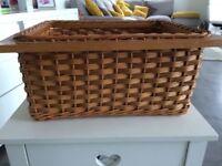 Ashgrove Kitchen: 4 Rattan kitchen wicker baskets.