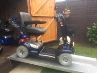 Any Terrain Road Legal Sterling Sapphire Mobility Scooter-22 St Capacity-Fast-Heavy Duty-Only £450