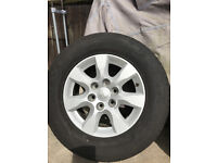 Mitsubishi 4x4 Alloy Wheel