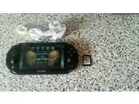 Sony PS Vita console and one game