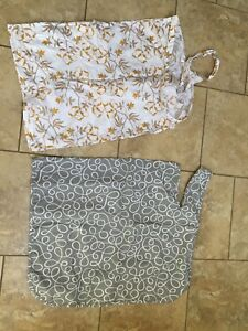 2 nursing covers