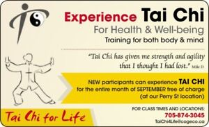 Tai Chi for Life in Peterborough – Let us guide you –