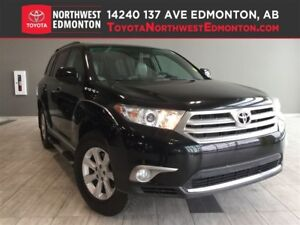 2013 Toyota Highlander 4WD | Leather Package | Heat Seats | Back