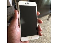 Apple Iphone 6 Plus Gold and White - 16 GB - Unlocked