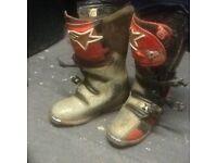 Mx boots alpine star tech 6